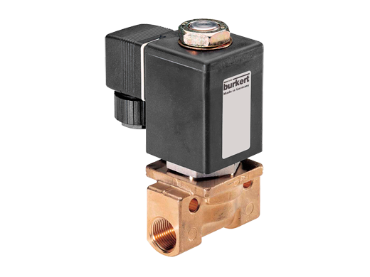 High-Pressure Plunger Operated Solenoid Valve