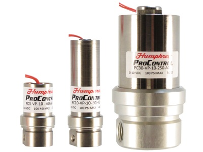 High Flow Proportional Solenoid Valves