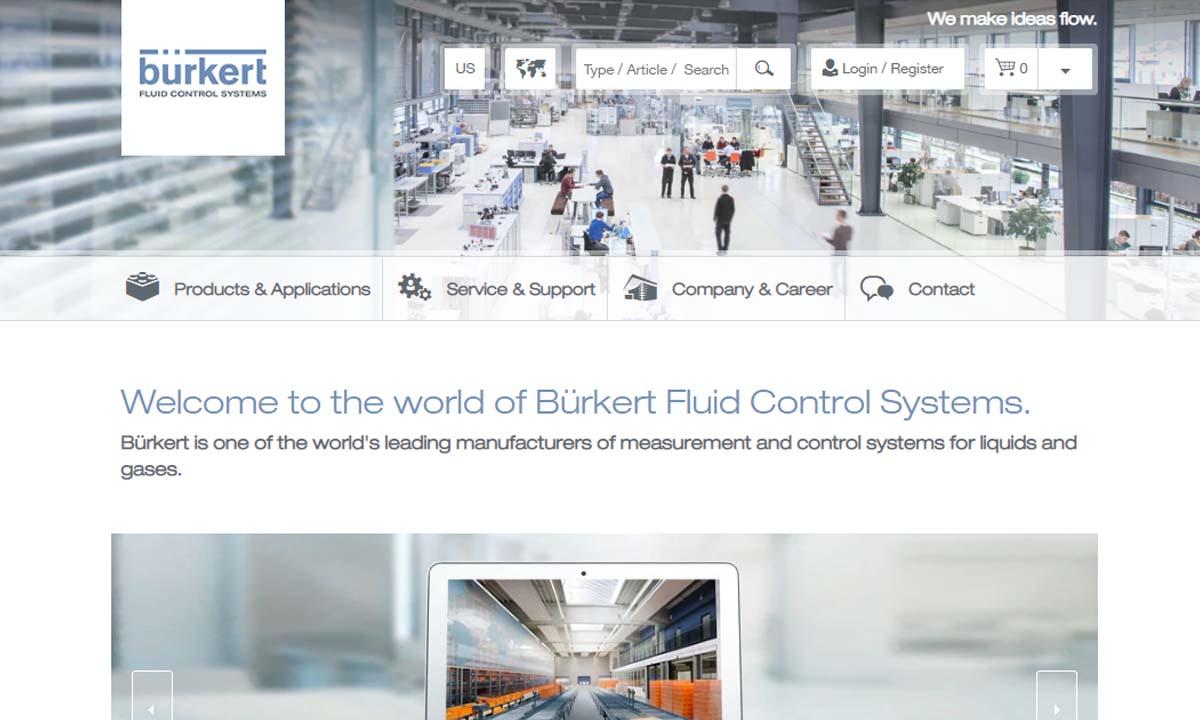 Burkert Fluid Control Systems