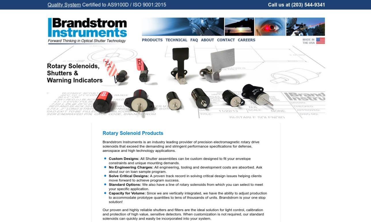 Brandstrom Instruments, Inc.
