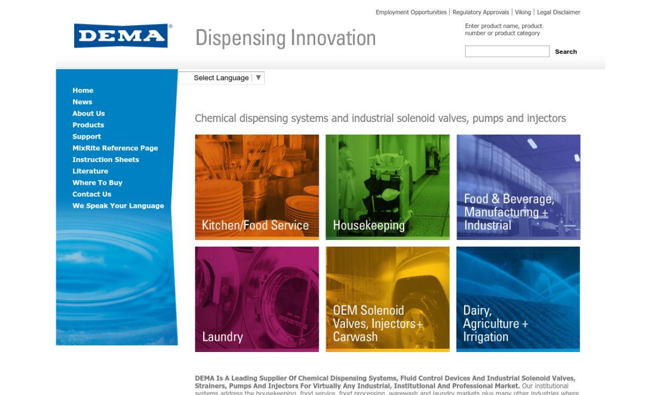 DEMA® Engineering Company