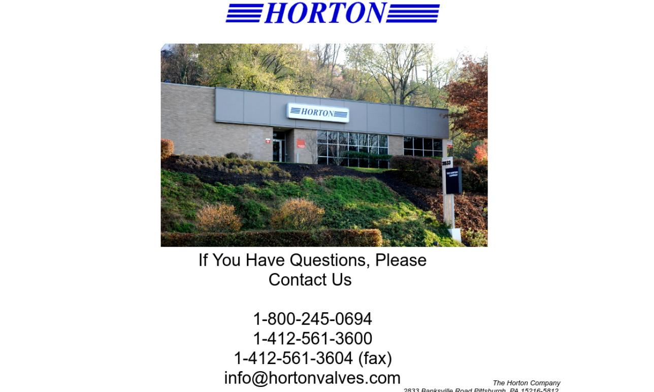 The Horton Company