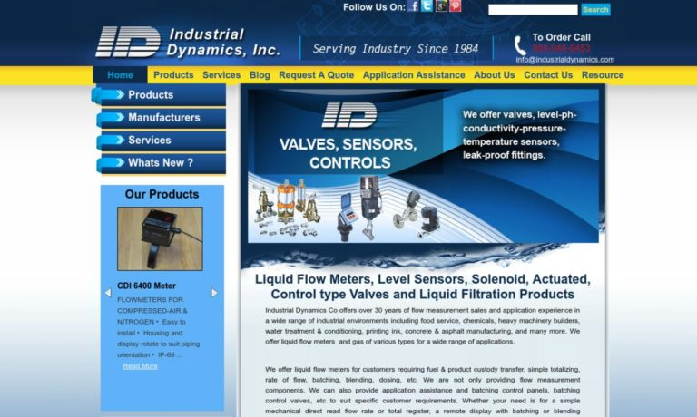 Industrial Dynamics, Inc.