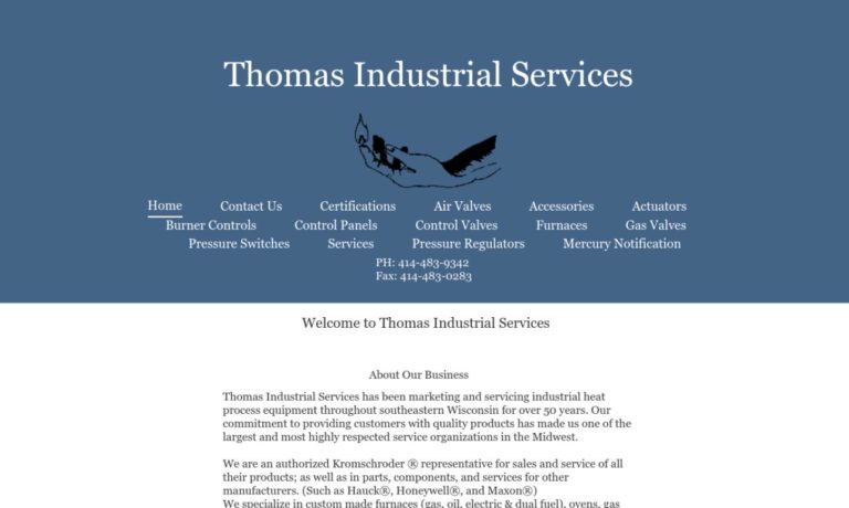Thomas Industrial Services, Inc.